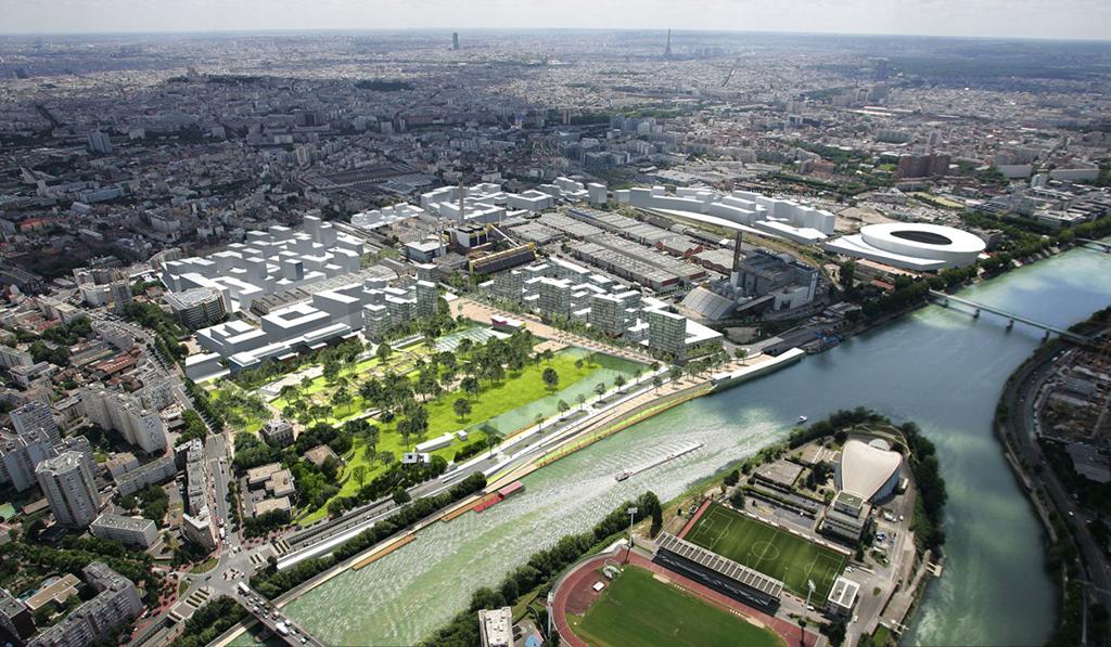 Quartier des Docks de Saint-Ouen