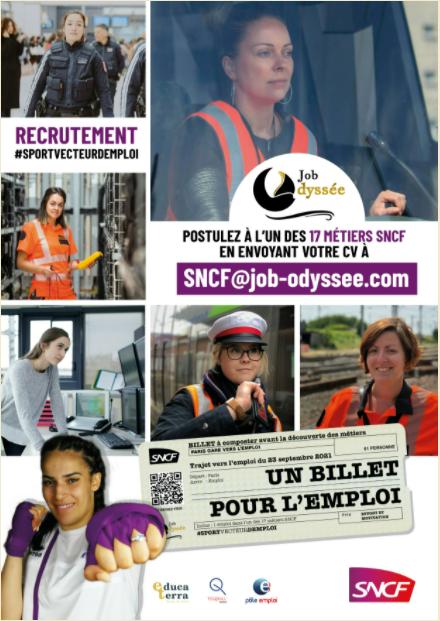 Job odyssee SNCF